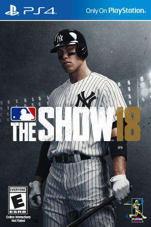 MLB The Show 18, Game on PS4, Sports