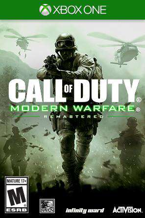 Call of Duty: Modern Warfare Remastered Xbox One, Game on XBOXONE, Shooter