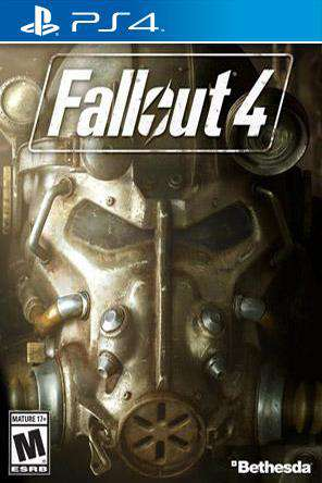 Fallout 4, Game on PS4, Shooter