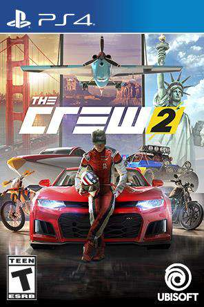 The Crew 2, Game on PS4, Sports