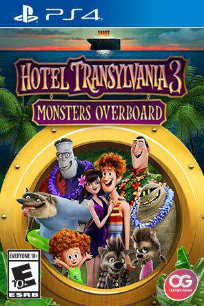 Hotel Transylvania 3: Monsters Overboard, Game on PS4, Action