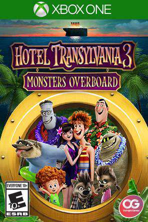 Hotel Transylvania 3: Monsters Overboard Xbox One, Game on XBOXONE, Action