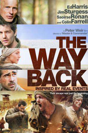 The Way Back, Movie on DVD, Drama
