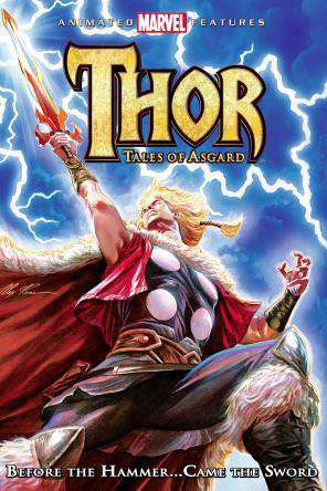 Thor: Tales of Asgard, Movie on DVD, Action Movies, Children
