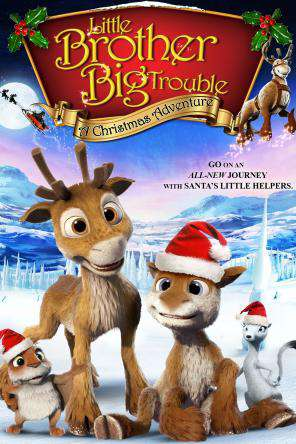Little Brother, Big Trouble: A Christmas Adventure, Movie on DVD, Family Movies, Holiday