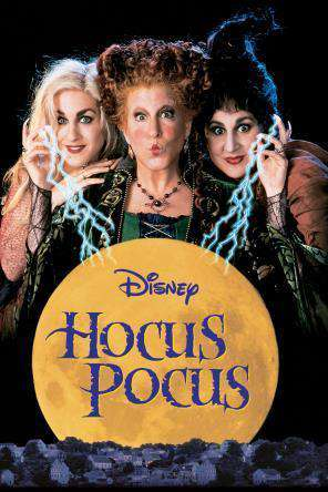 Hocus Pocus, Movie on DVD, Family