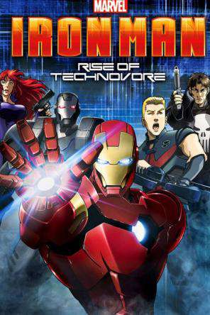 Iron Man: Rise of Technovore, Movie on DVD, Action Movies, Adventure Movies, Animated Movies, Sci-Fi & Fantasy Movies, Animation