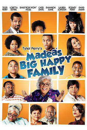 Tyler Perry's: Madea's Big Happy Family, Movie on DVD, Comedy Movies, Adaptation