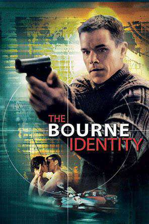 The Bourne Identity (2002), Movie on DVD, Action Movies, Suspense