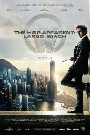 The Heir Apparent: Largo Winch, Movie on DVD, Action Movies, Adventure Movies, Special Interest Movies, Thriller & Suspense Movies, Adaptation Movies, Foreign Movies, Thriller