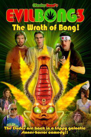 Evil Bong 3: The Wrath of Bong!, Movie on DVD, Horror