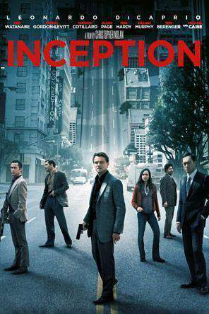 Inception, Movie on DVD, Drama