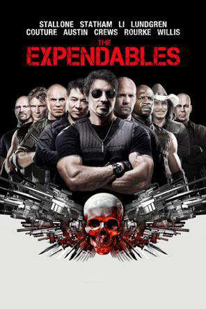 The Expendables, Movie on DVD, Action Movies, Adventure