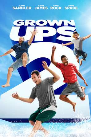 Grown Ups 2, Movie on DVD, Comedy