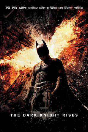 The Dark Knight Rises, Movie on DVD, Action