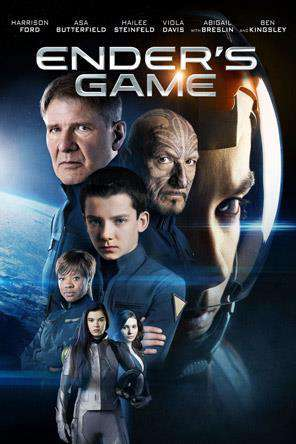Ender's Game, Movie on DVD, Action Movies, Sci-Fi & Fantasy