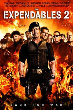 The Expendables 2, Movie on DVD, Action