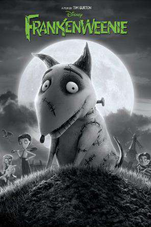 Frankenweenie, Movie on DVD, Family