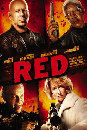 Red, Movie on DVD, Action