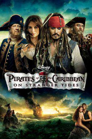 Pirates of the Caribbean: On Stranger Tides, Movie on DVD, Action