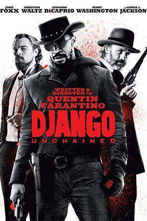 Django Unchained, Movie on DVD, Action Movies, War & Western