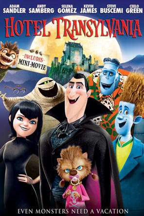 Hotel Transylvania, Movie on DVD, Family