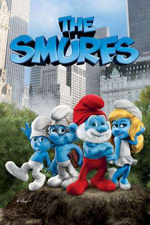 The Smurfs (2011), Movie on DVD, Family Movies, Kids