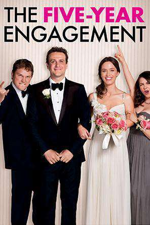 The Five-Year Engagement, Movie on DVD, Romance