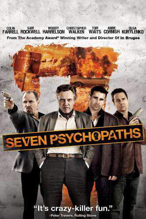 Seven Psychopaths, Movie on DVD, Comedy