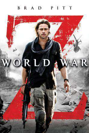 World War Z, Movie on DVD, Action Movies, Adaptation Movies, Sci-Fi