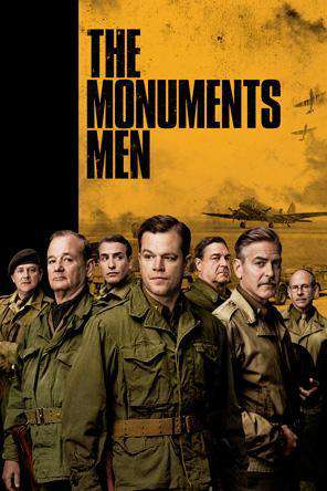 The Monuments Men, Movie on DVD, Action Movies, Drama Movies, War & Western
