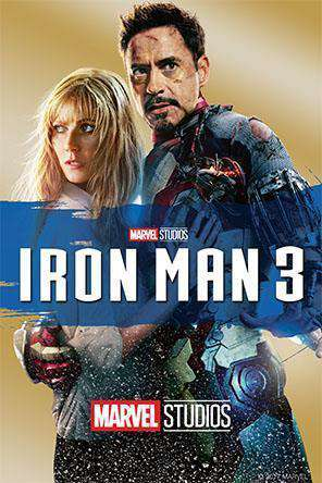 Iron Man 3, Movie on DVD, Action Movies, Adventure