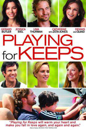 Playing For Keeps, Movie on DVD, Comedy Movies, Sports