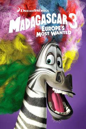 Madagascar 3: Europe's Most Wanted, Movie on DVD, Family Movies, Kids
