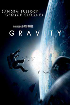 Gravity, Movie on DVD, Action