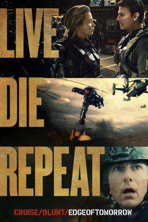 Live Die Repeat: Edge of Tomorrow, Movie on DVD, Action Movies, Sci-Fi & Fantasy