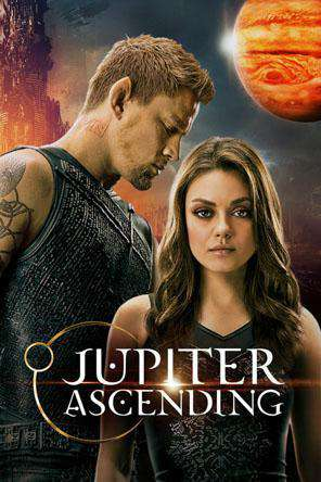 Jupiter Ascending, Movie on DVD, Action Movies, Sci-Fi & Fantasy