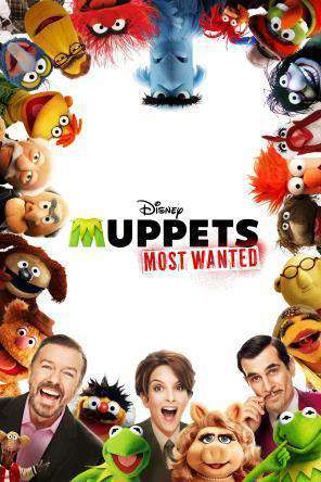 Muppets Most Wanted, Movie on DVD, Family