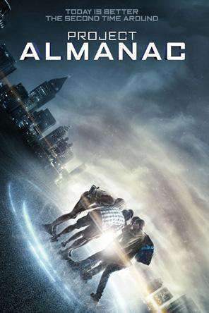 Project Almanac, Movie on DVD, Sci-Fi & Fantasy Movies, Thriller & Suspense