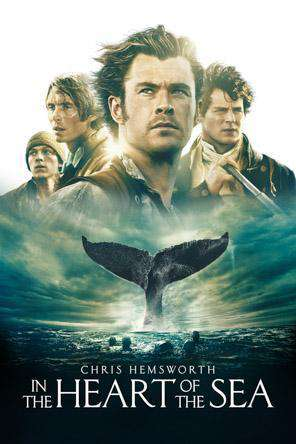In the Heart Of The Sea, Movie on DVD, Adventure Movies, Drama