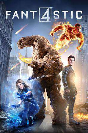 Fantastic Four (2015), Movie on DVD, Action Movies, Adventure