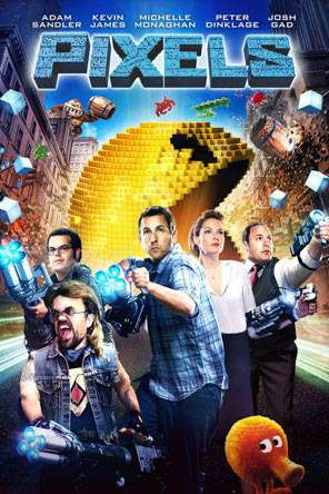 Pixels, Movie on DVD, Comedy Movies, Adaptation Movies, Sci-Fi