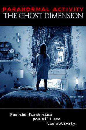 Paranormal Activity: The Ghost Dimension, Movie on DVD, Horror Movies, Thriller & Suspense