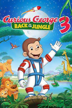 Curious George3: Back To The Jungle, Movie on DVD, Adventure Movies, Animated Movies, Family