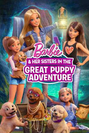 Barbie & Her Sisters in the Great Puppy Adventure, Movie on DVD, Animated Movies, Family
