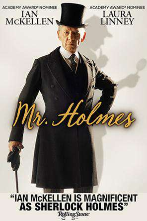 Mr. Holmes, Movie on DVD, Drama Movies, Thriller & Suspense