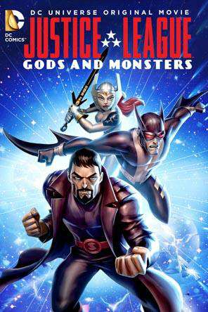 Justice League: Gods & Monsters, Movie on DVD, Action Movies, Adventure Movies, Animated