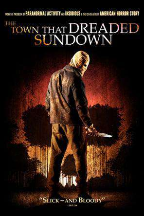 The Town That Dreaded Sundown (2014), Movie on DVD, Horror