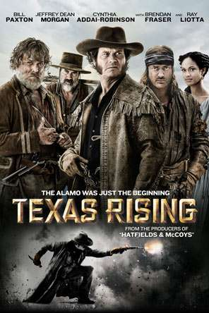 Texas Rising, Movie on DVD, Action Movies, War & Western