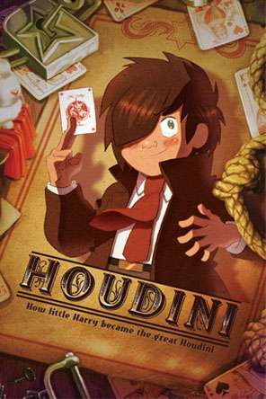 Houdini (2015), Movie on DVD, Animated Movies, Kids Movies, Family